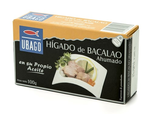 San Lamberto - HIGADO DE BACALAO 30/125 UBAGO - Distribuidor ...